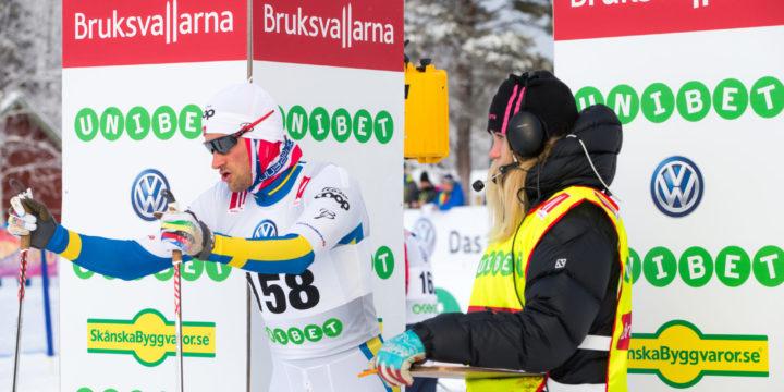 Petter Northug åker Bruksvallsloppet